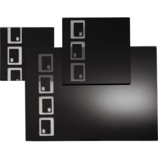 Buy Living 10 Piece Oblong Glass Placemat Set Black At Argos Co Uk Your Online Shop For Table Cloths Placemats And Textile Black Placemats Placemat Sets Kitchen Pictures