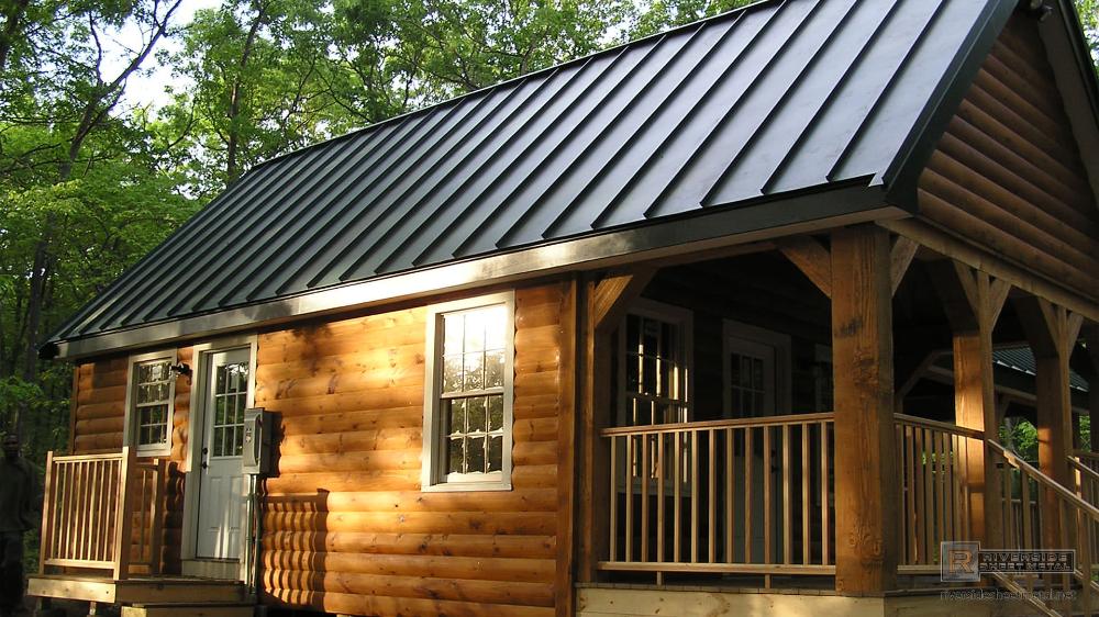Standing Seam Charcoal Gray Steel Metal Roof Metal Roofing In 2020 Metal Roof Houses Metal Roof Standing Seam