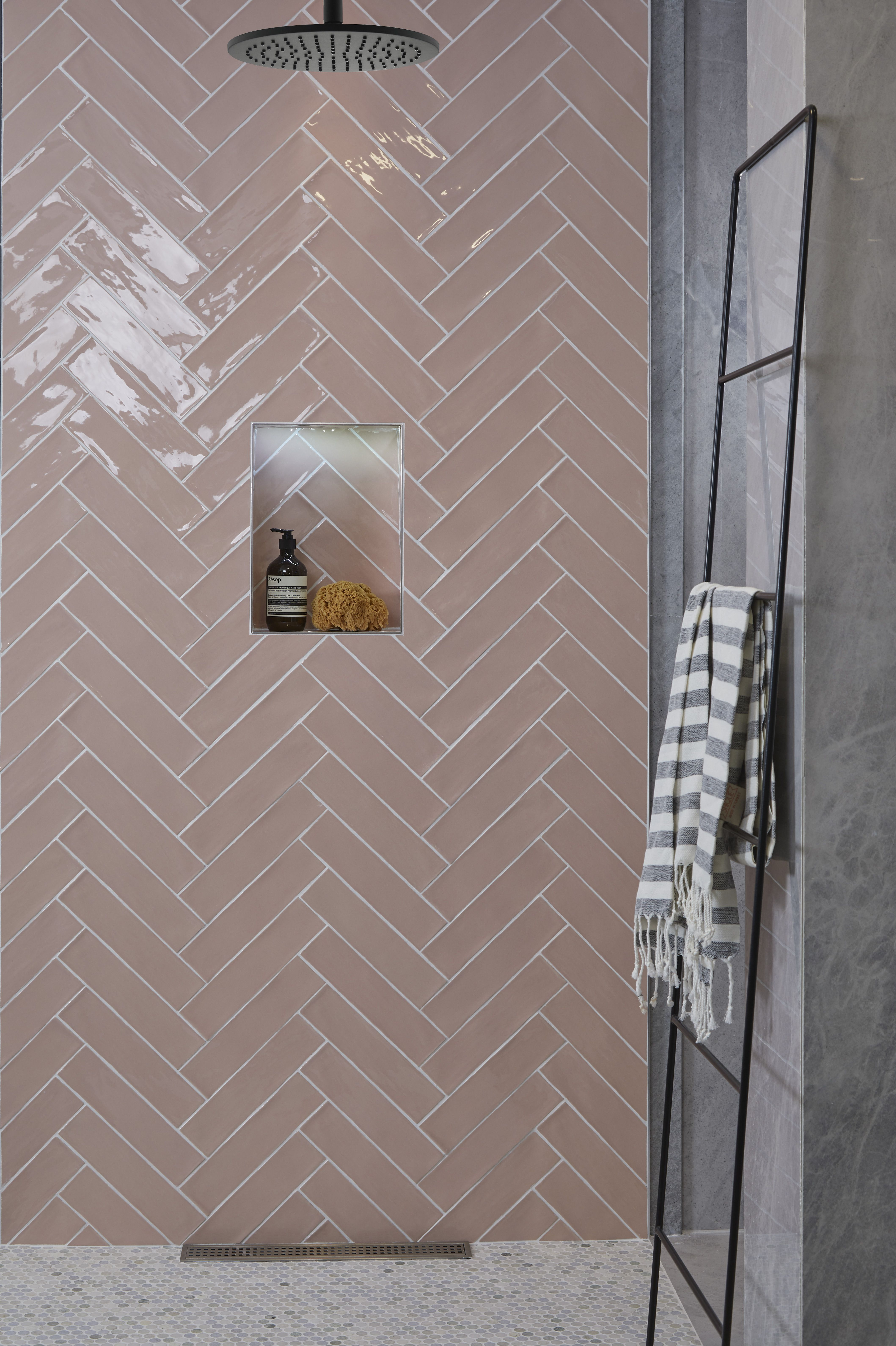 Photo of Carter Azure Ceramic Tiles | Ca' Pietra