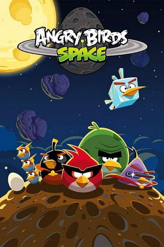 new /& sealed Maxi Poster 61cm x 91.5cm Angry Birds Space