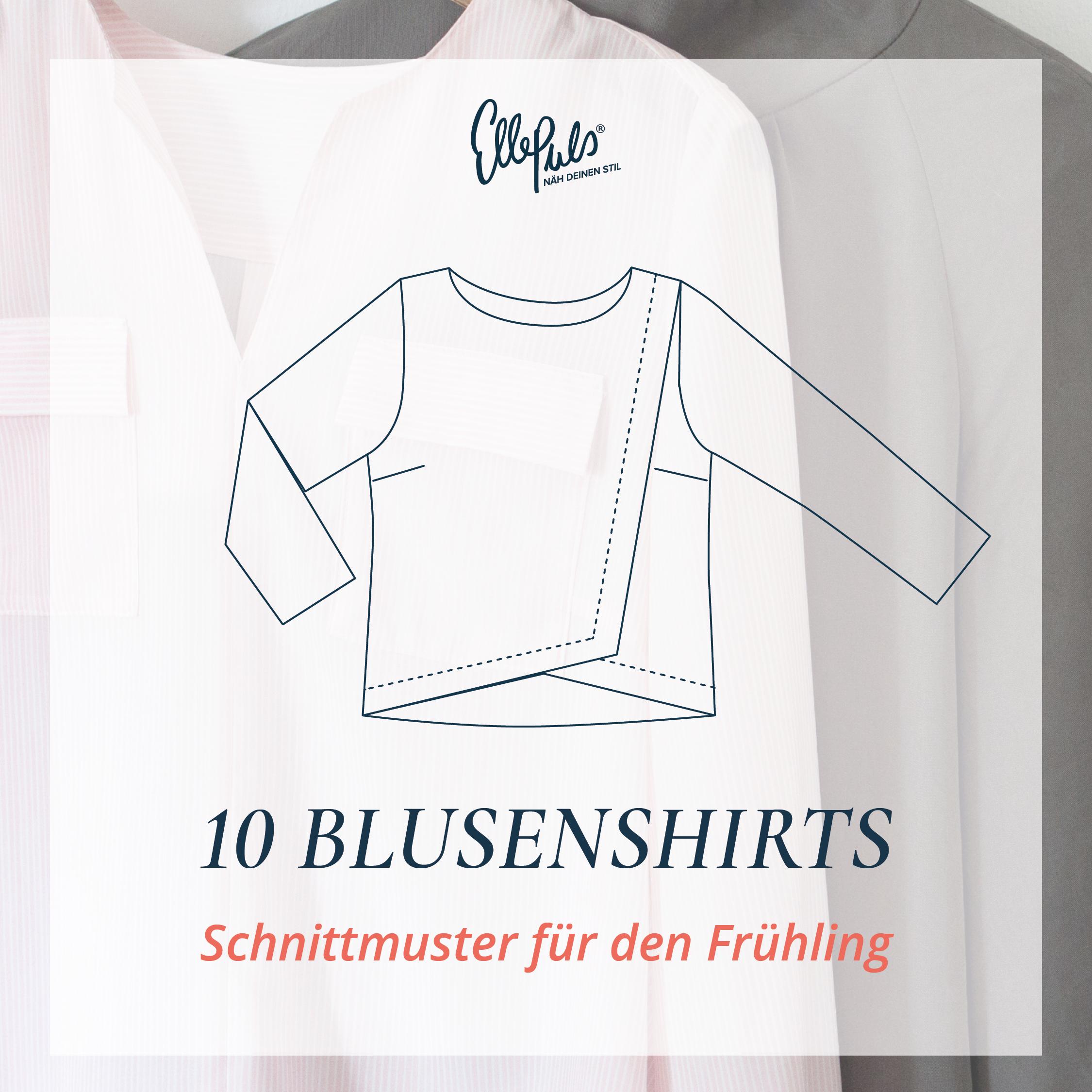 10 Blusenshirt Schnittmuster für den Frühling