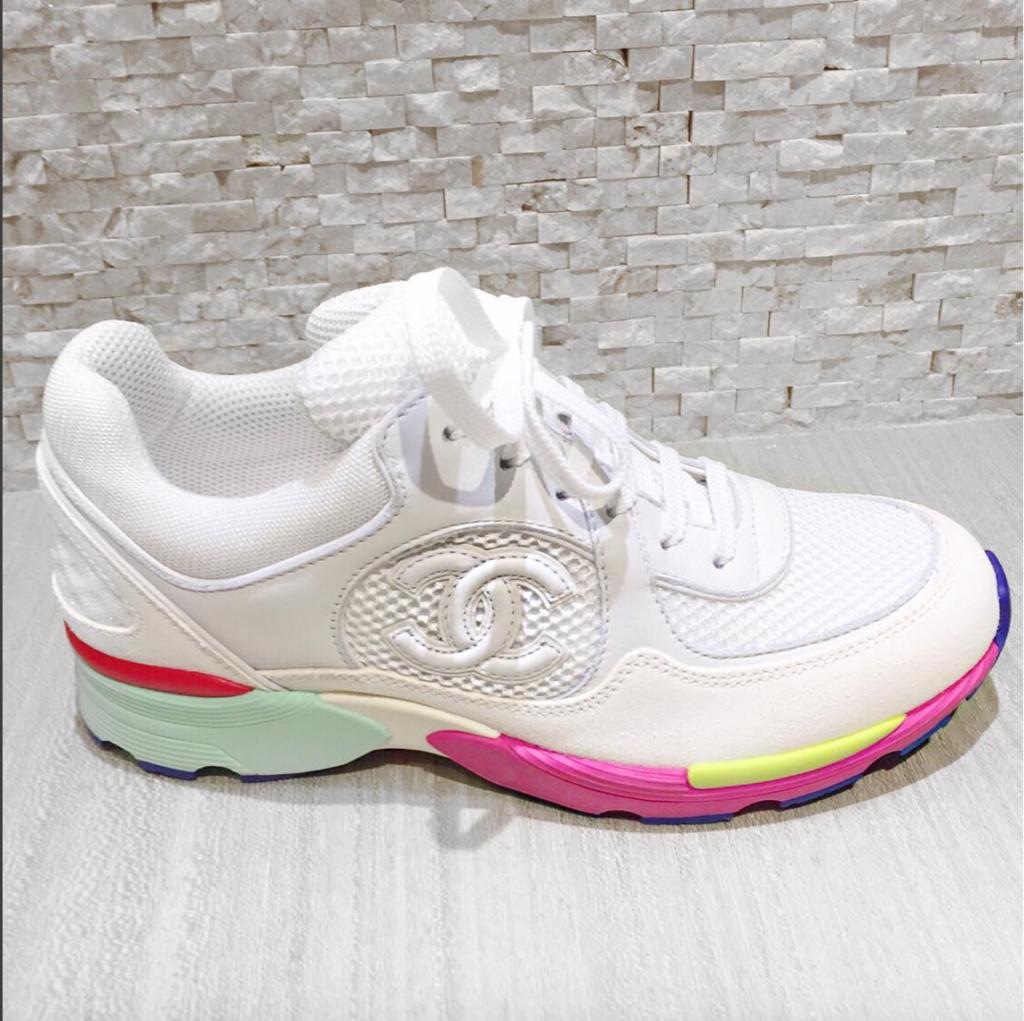 Chanel Dubai Cruise 2015 Sneakers – Personal Shopper London Shop