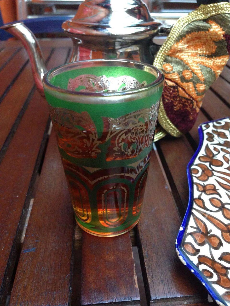 Té en vaso árabe