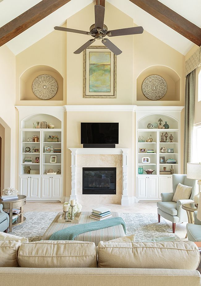 Design My Living Room Layout: Two-Story Family Room - Marker Girl Makeover