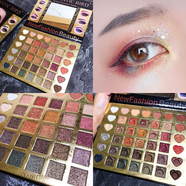Heres B2uty Holiday Eyeshadow Palette 12 Color Palette Make Up Palette Pigmented Eye Shadow Matte Eyeshadow Shimmer Eyeshadow Beauty & Health