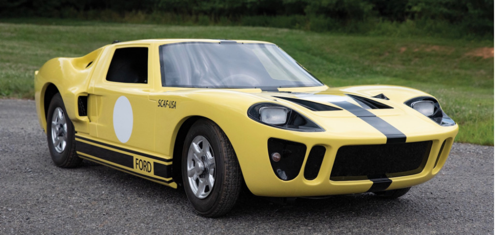 Rm Sotheby S Offers Full Ford Gt Lineage At Monterey Auction