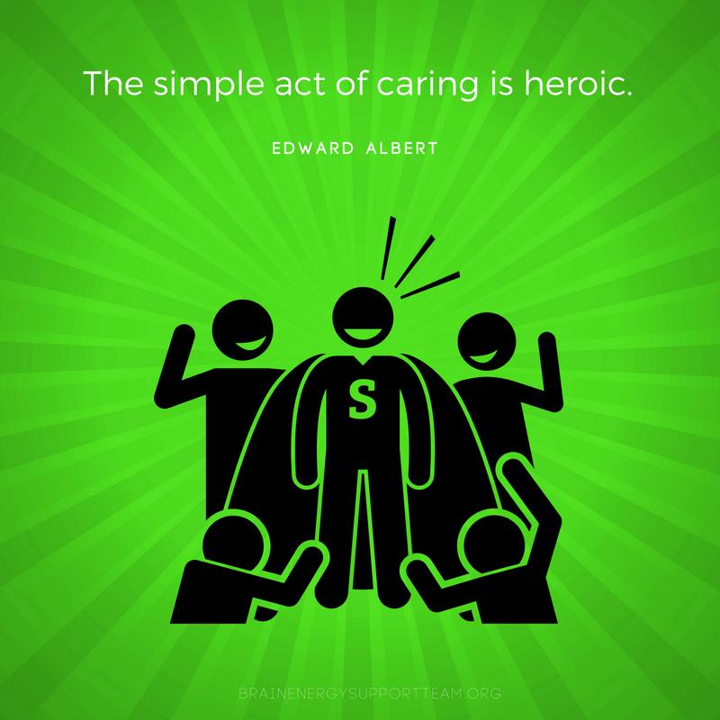 Caregivers, you are our superheroes! Caregiver