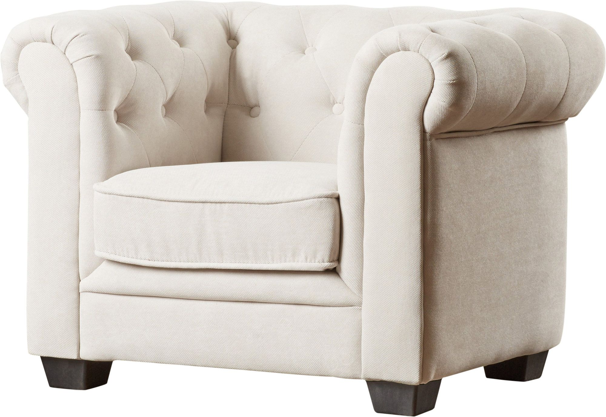 Brayden Tufted Youth Chestefield Chair