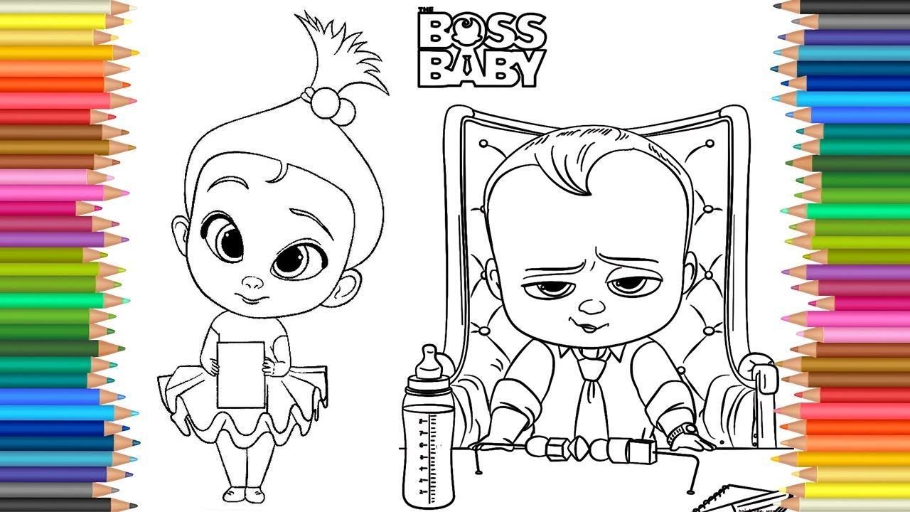 Baby Coloring Videos Designs Collections