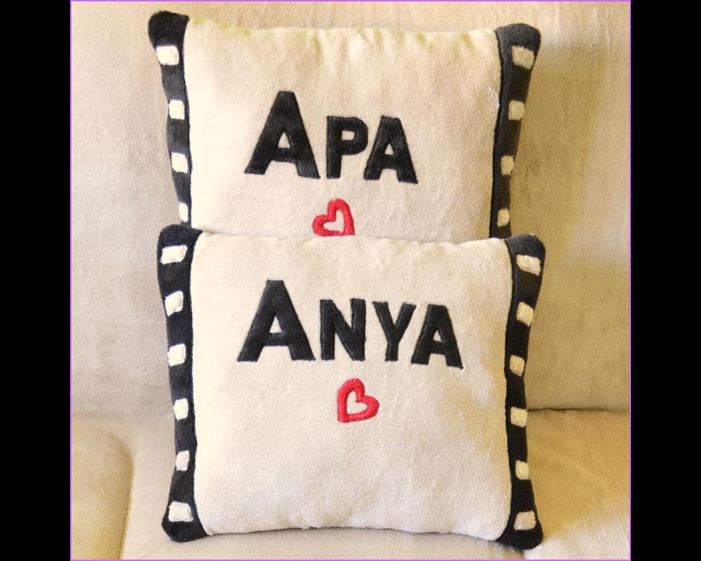 Személyre szóló párna filmkocka mintával  fotó  photo  film  filmkocka   pillow  personalized 12a653e266