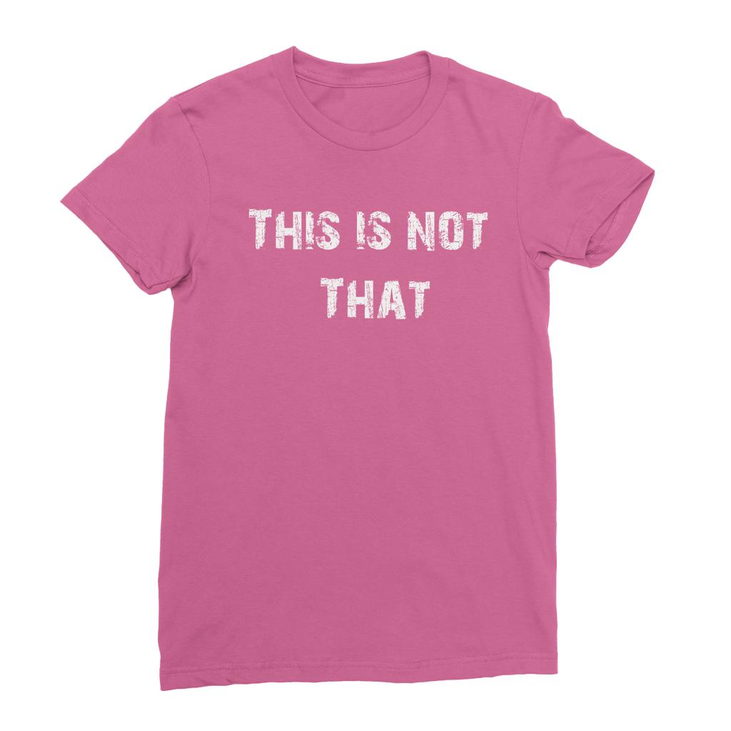 Women's Fine Jersey TShirt T shirts for women, T shirt
