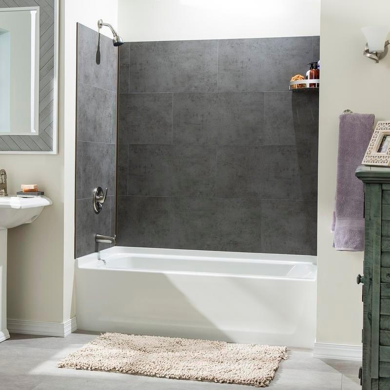 dumawall steel wool shower kit sample grayplastic