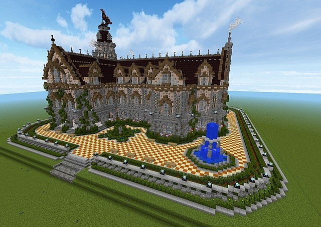 Renaissance Town Hall  Download  Minecraft Project