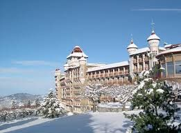 Swiss Hotel Management School, Caux Castle Montreux, Switzerland (my 1st college year & my dorm there....will want to visit someday ;)