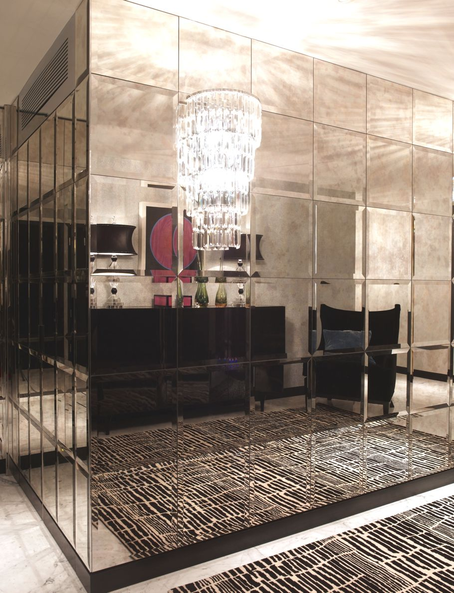Luxury London Apartments at Walpole Mayfair | Mirror tile | Decor ...