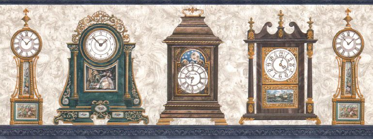 Standing Tall Clock WallpaperRetro