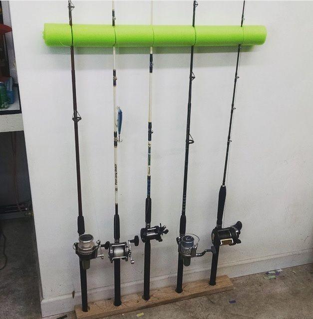 Garage Storage · Swim Noodle Fishing Pole ...