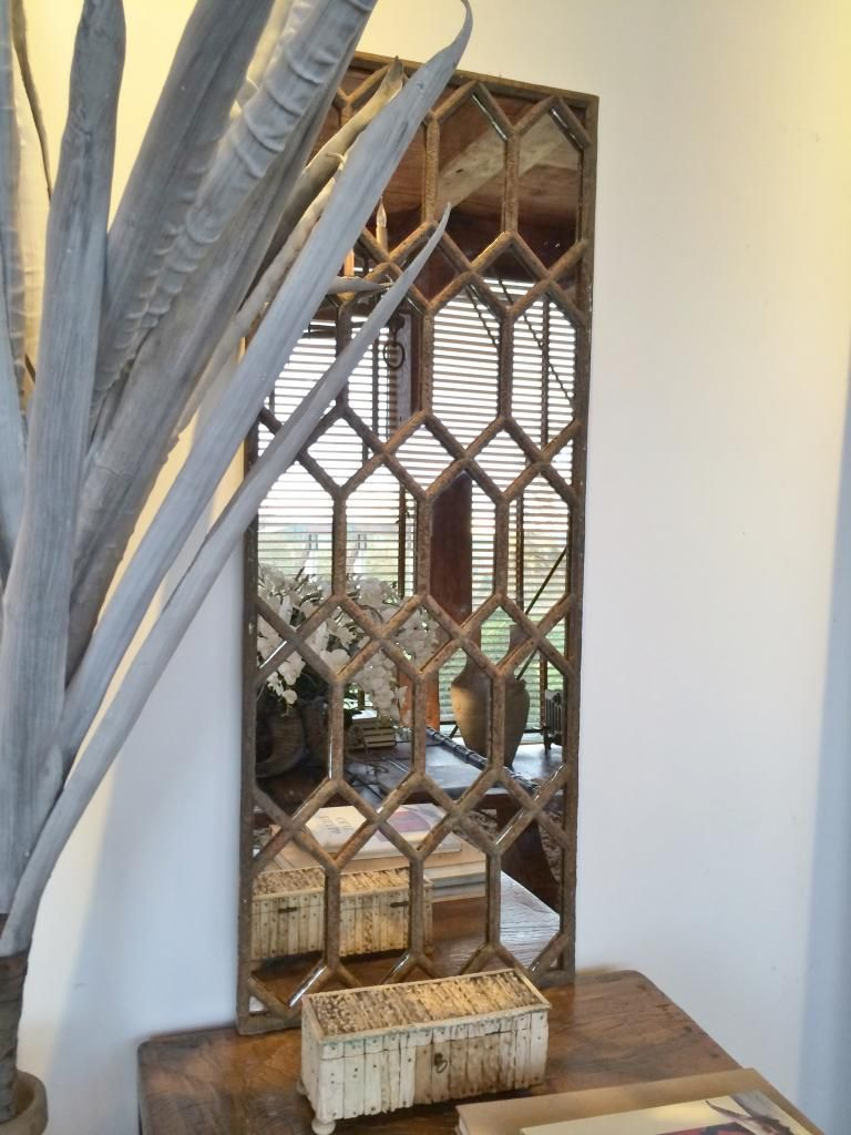 Hexagonal Design Window Frame Mirror [HX/50] : Aldgate Home Ltd ...