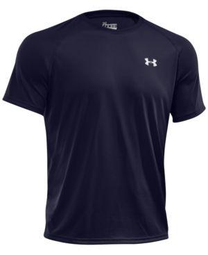 Under Armour Men s Tech T-Shirt - Blue XXL 0b4a25ad4f9