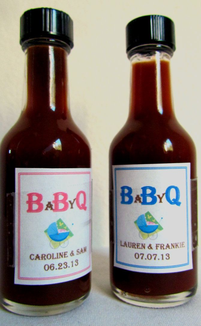 Baby Showers Bbq ~ Babyq more personalized baby shower favors ideas