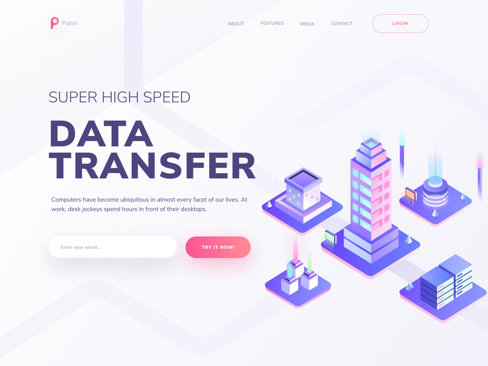 Super High Speed Data Transfer Data High Speed Speed