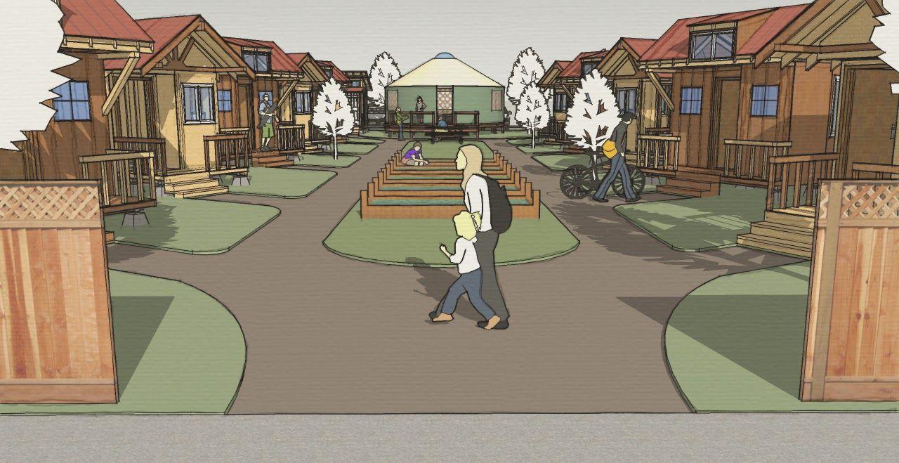 Step Toward Defeating Homelessness Emerald Village