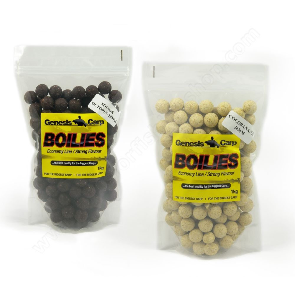 Spicy Banana Boilies 20mm 1kg Strategy Baits