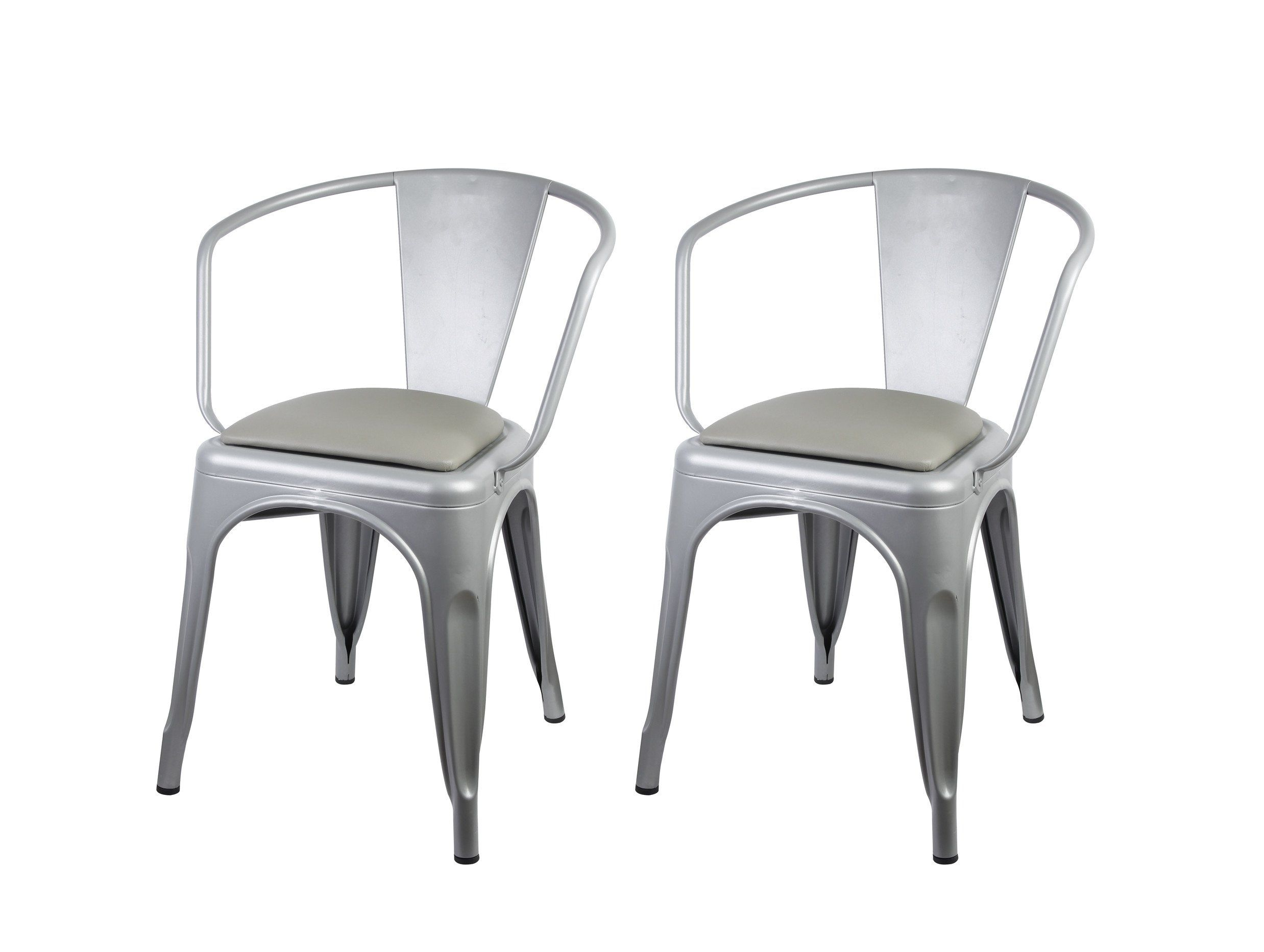 chairs replica place gunmetal next chair metallica xavier pauchard outdoor color tolix previous furniture shop