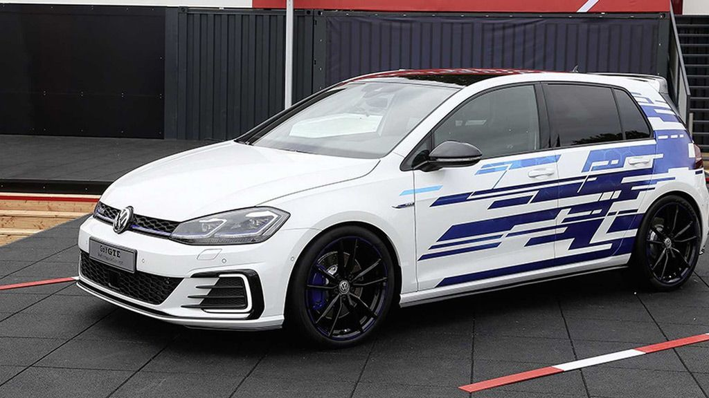 Volkswagen Waited Until Opening Day For The 2017 Worthersee Tour Gti Tuning Fest To Release Details On Yet Another Hot Hatch Concept Present At Austrian