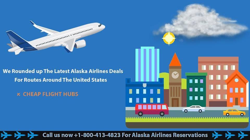 Book Alaska Airlines Reservations Phone Number Airline Deals Alaska Airlines Airline Reservations