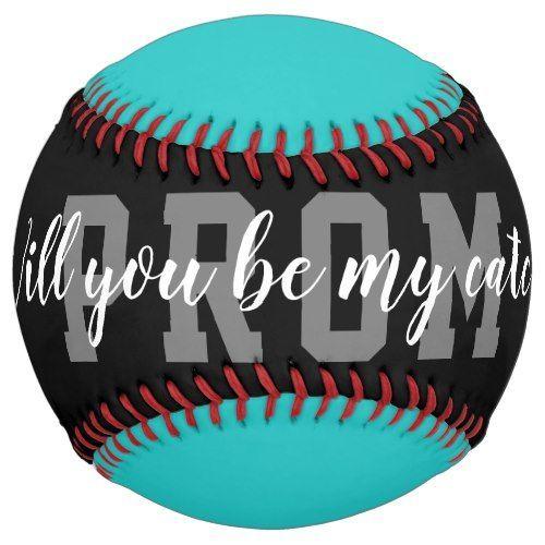 Softball hoco prom vorschlag anfrage ball geschenkidee #promproposal