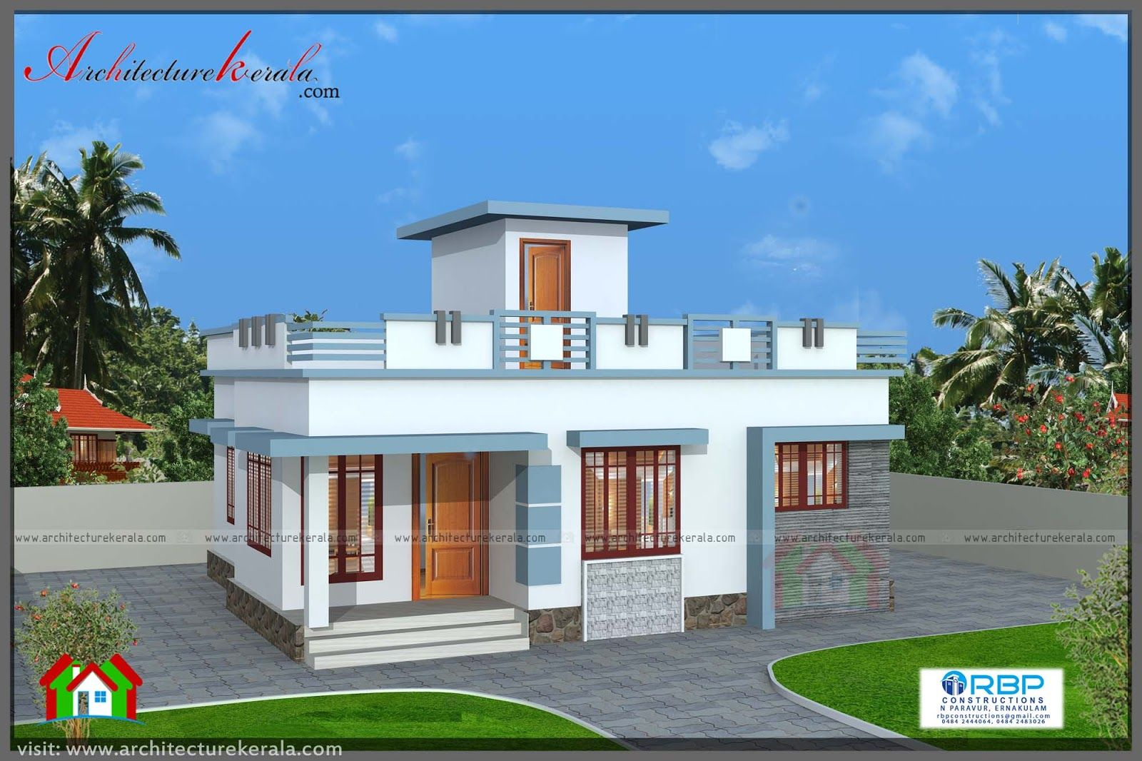 700 Sqft Plan And Elevation For Middle Class Family Single Floor House Design Small House Elevation Design House Outside Design