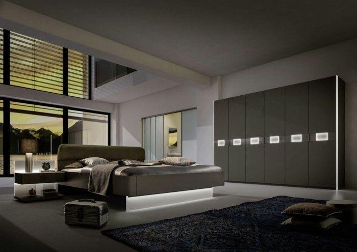 Garderobe Ideen für eine schöne und moderne Schlafzimmereinrichtung ...