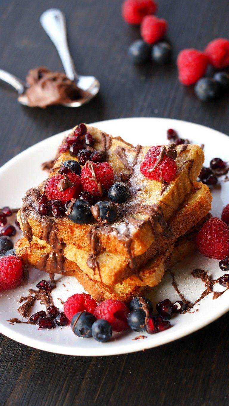 French Toast (gesund mit Beeren) - hellopippa