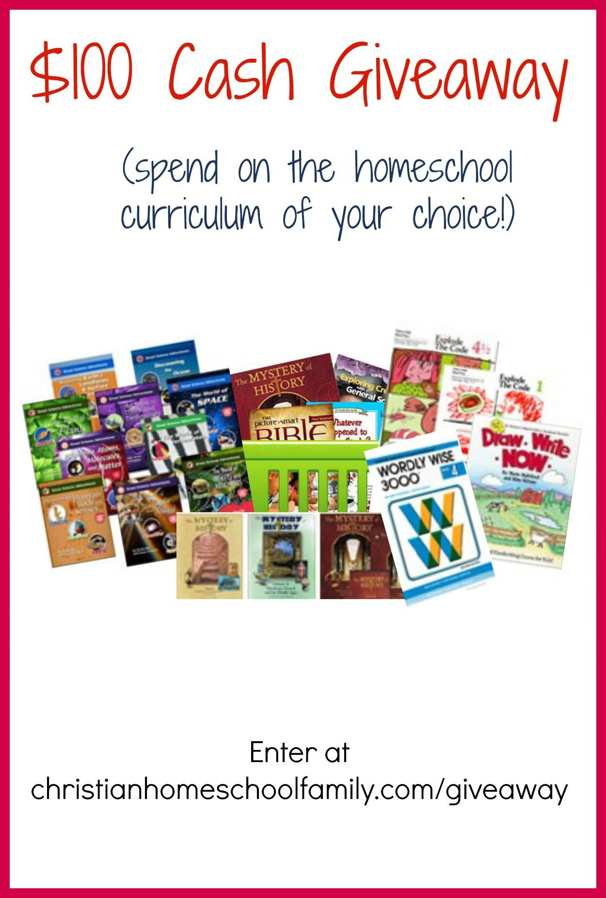 Homeschool Curriculum Giveaway With Images