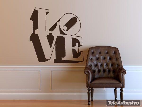 Adesivi cameretta ~ Adesivi murali love design 3 san valentino adesivi murali