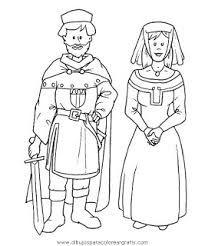 Resultado De Imagen De Edad Media Para Ninos Edad Media Dibujos Edad Media Artesanias Medievales