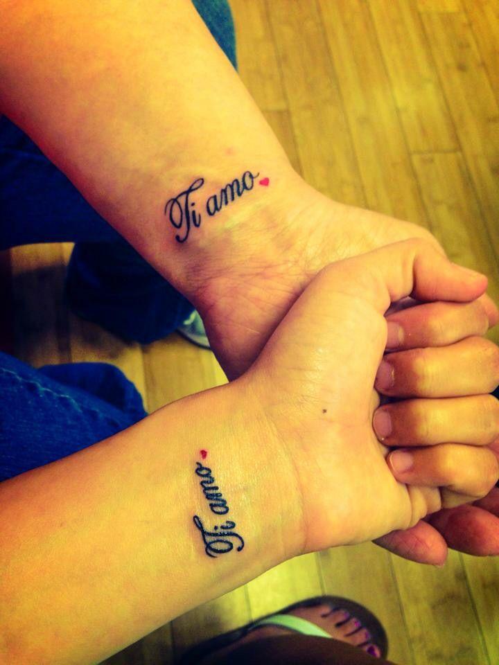 Ti Amo Tattoo Me Mom Cool Tattoos Trendy Tattoos Tattoos