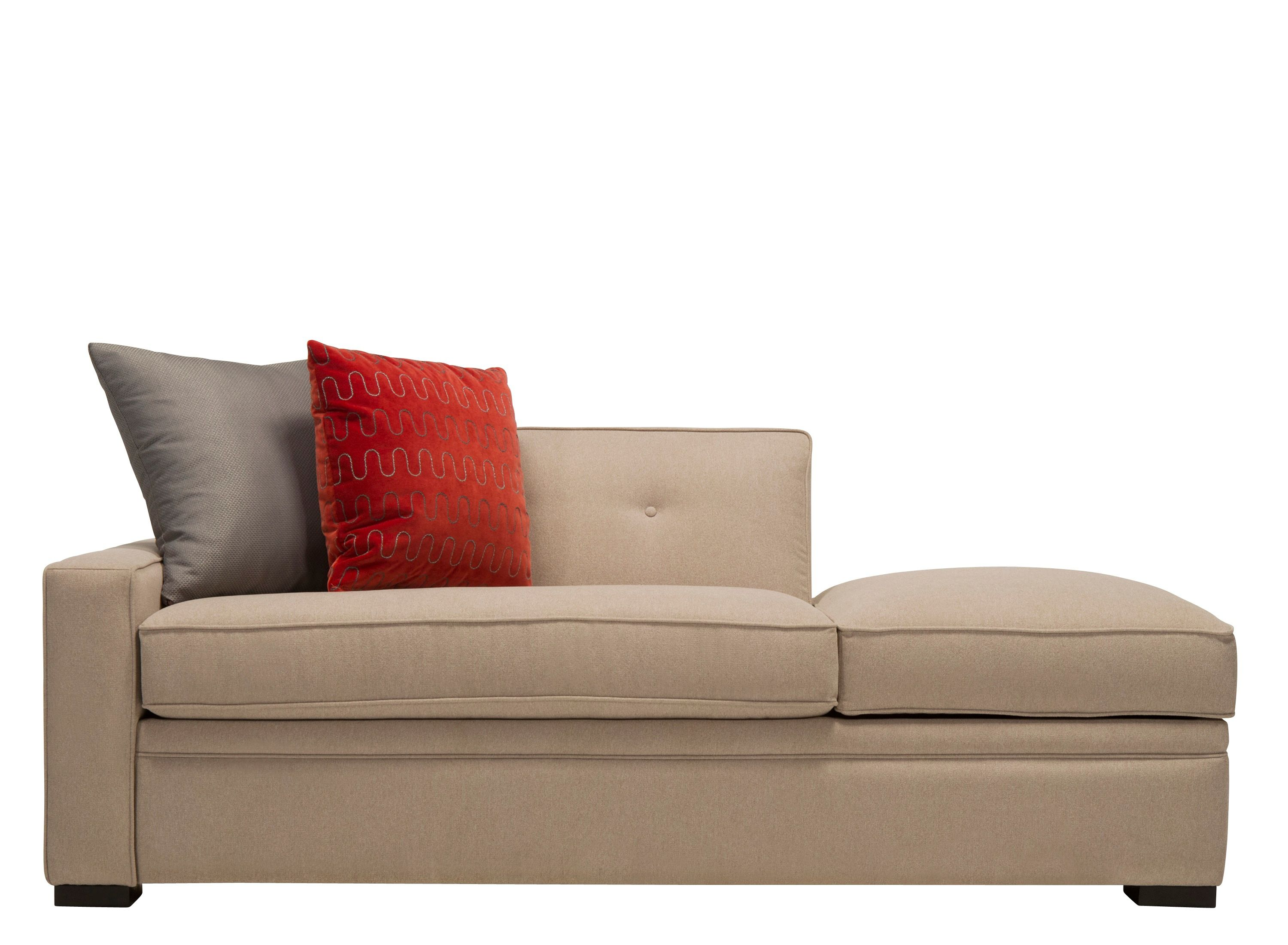 The Codi twin sleeper chaise lounge is one of those living room