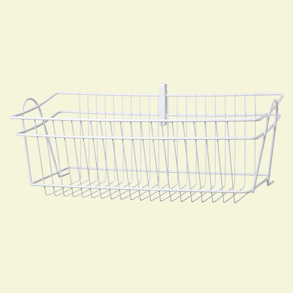 ClosetMaid ShelfTrack 8 In. H Wire Basket
