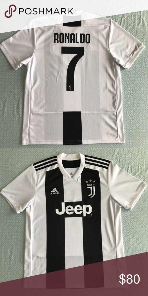best sneakers 084ac f9a87 Ronaldo Juventus Jersey 2018/19 Bought last summer and worn ...