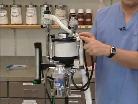 Set Up and Use of the Anesthesia Machine - YouTube