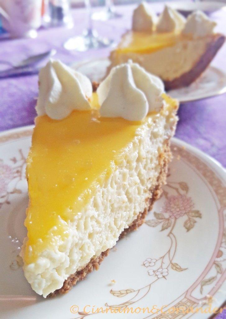 light lemon mousse pie