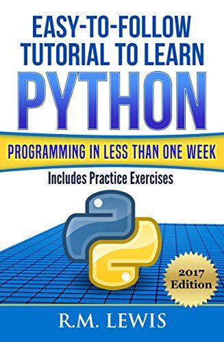 5 libros para aprender a programar en python desde cero este 2018.