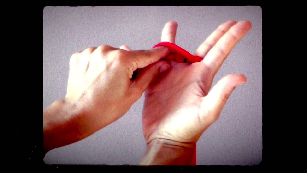 Tutorial tejido con los dedos
