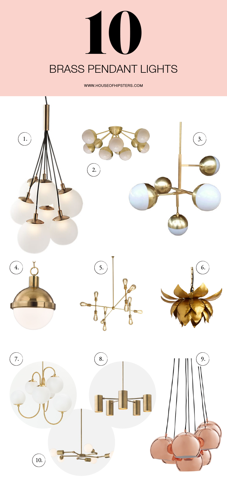 Amazing Brass Lighting For Your Home Decor