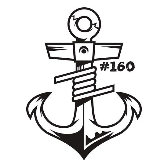 """""""Coil & Anchor Sticker"""" Stickers by GG160 