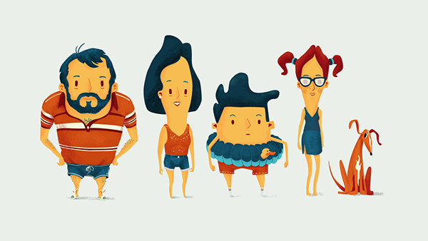 nick animate your summer by sean mcclintock via behance children