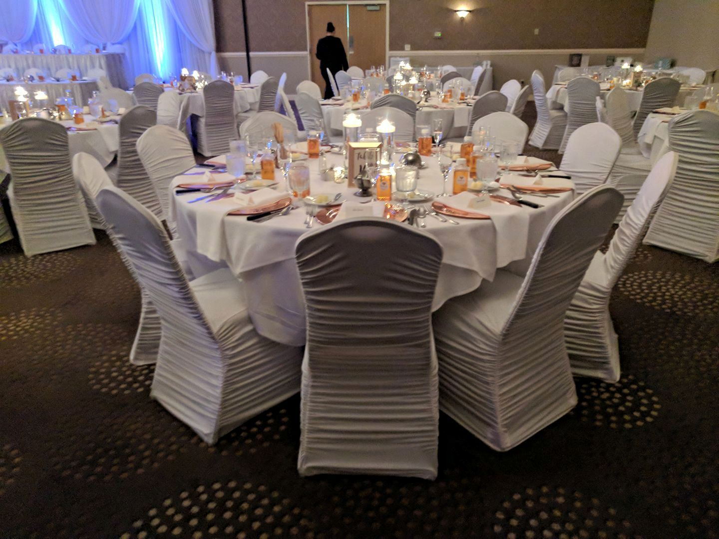 Chair Covers For Wedding Reception 9 23 2017 Double Tree