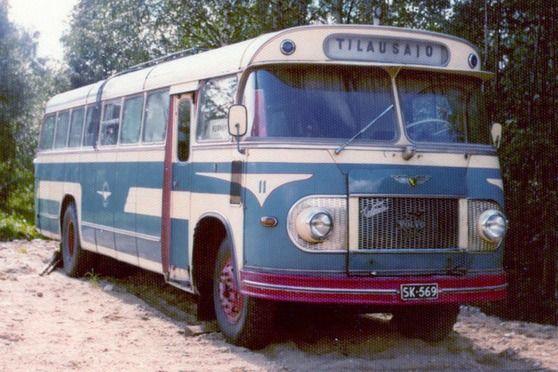 Nurmeksen Auto 11 Sk 569 Jl Bus Auto Busses